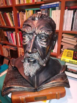 busto don quijote antiguo