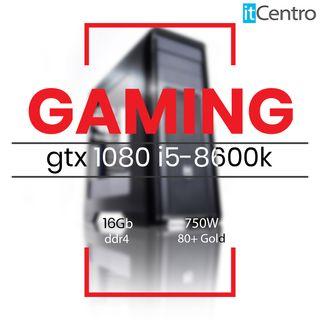 Gaming sobremesa 8600k gtx1080