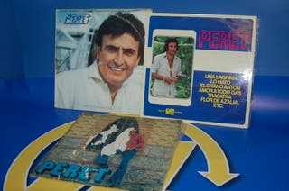 Lote de 3 VINILOS LPS vinilos PERET - descatalogad