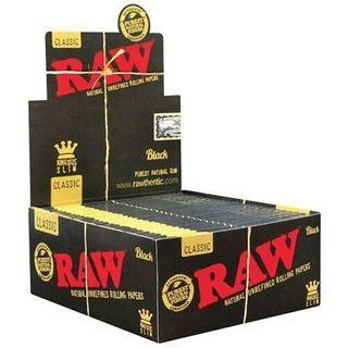 papel raw king size black