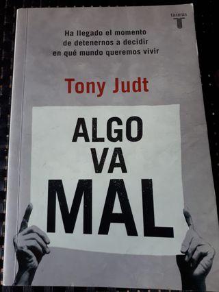 Libro Tony Judt. Algo va mal