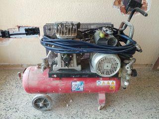 compresor de aire inverter FIAC 3.kw.