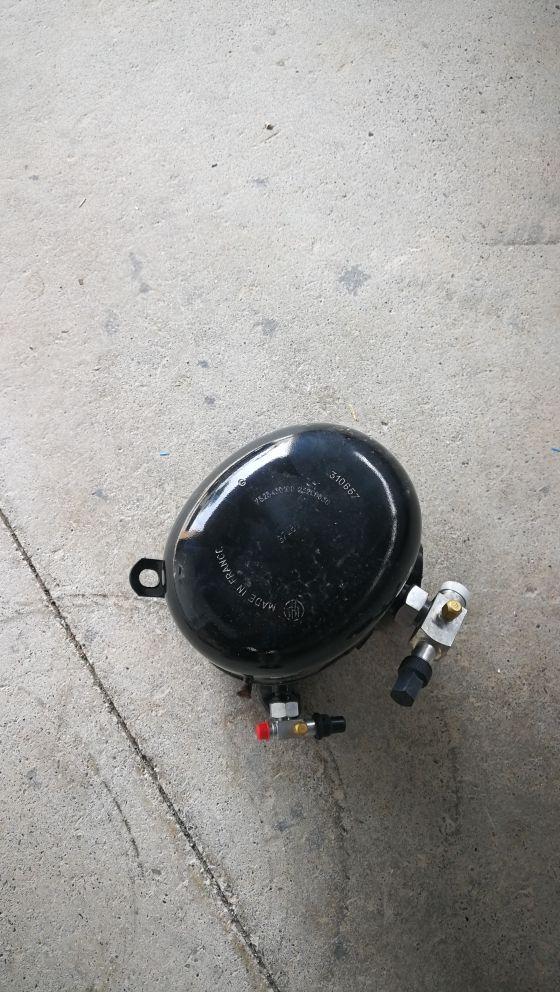 Compresor para cámara frigorífica