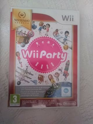 WII PARTY JUEGO WII