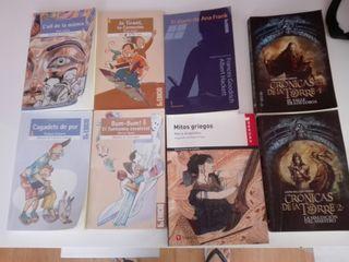 libros lectura de la ESO