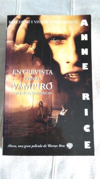 """Libro """"Entrevista con el vampiro"""". NUEVO"""