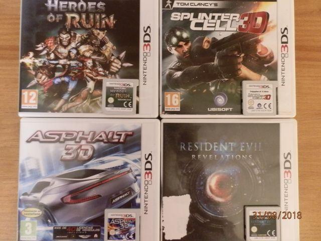 Lote De Juegos Nintendo 3ds 2ds De Segunda Mano Por 50 En