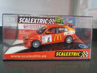 scalextric seat León altaya McDonald