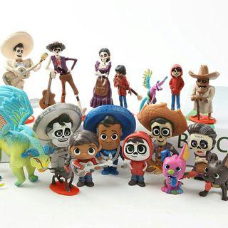 !!! Oferton !!! Lote de Figuras Coco Disney Nuevas