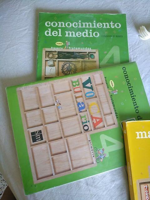 Libros de cuarto primaria de segunda mano por 35 € en Madrid en WALLAPOP