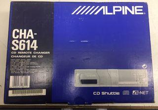 Cargador de CD ALPINE CHA-S614