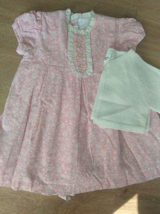 vestido talla 12 meses