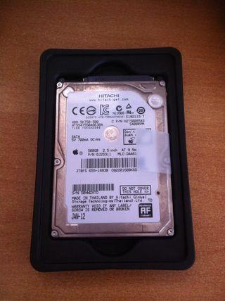 """Disco Duro 500GB 2,5"""" Apple."""
