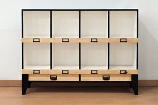 Mueble aparador estantería