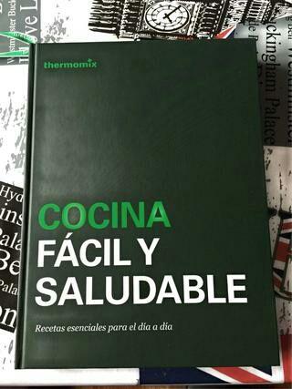 Libro Cocina Fácil y Saludable Thermomix Tm5