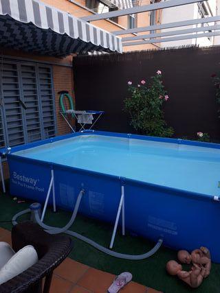 Piscina desmontable de segunda mano en wallapop - Bomba depuradora piscina segunda mano ...