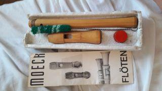 Flauta de madera moeck