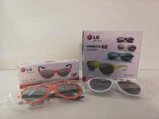 REGALO! GLASSES CINEMA 3D