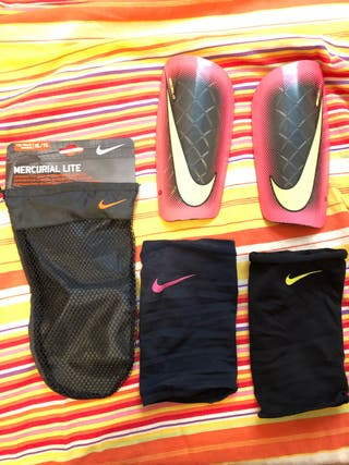 Espinilleras Nike. 10 €. Espinilleras Nike. Espinilleras Nike Mercurial Lite 56debd457f544