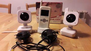 Cámara vigilancia bebé gemelar RIMAX