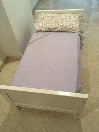 Cuna cama con colchón