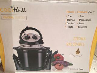 Freídora sin aceite marca cocina fácil.