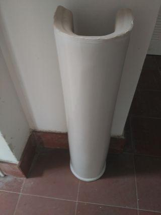 Lavabos de porcelana con pedestal Roca