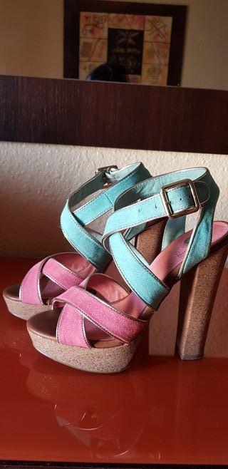 Zapato plataforma