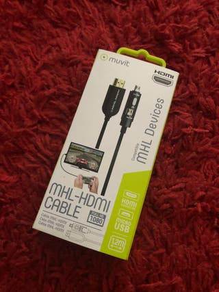 Cable Móvil Tablet / TV / MHL-HDMI