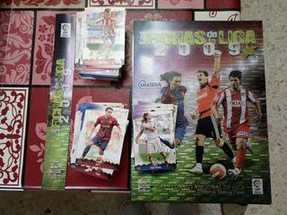 Cartas Fichas de Futbol