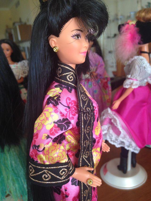 Barbie colección Muñecas del mundo. China. 1994.