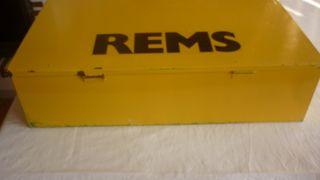 Maleta para maquina de soldar PPR Rems MSG 125