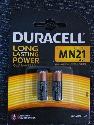 Caja pilas Duracell MN21 A23