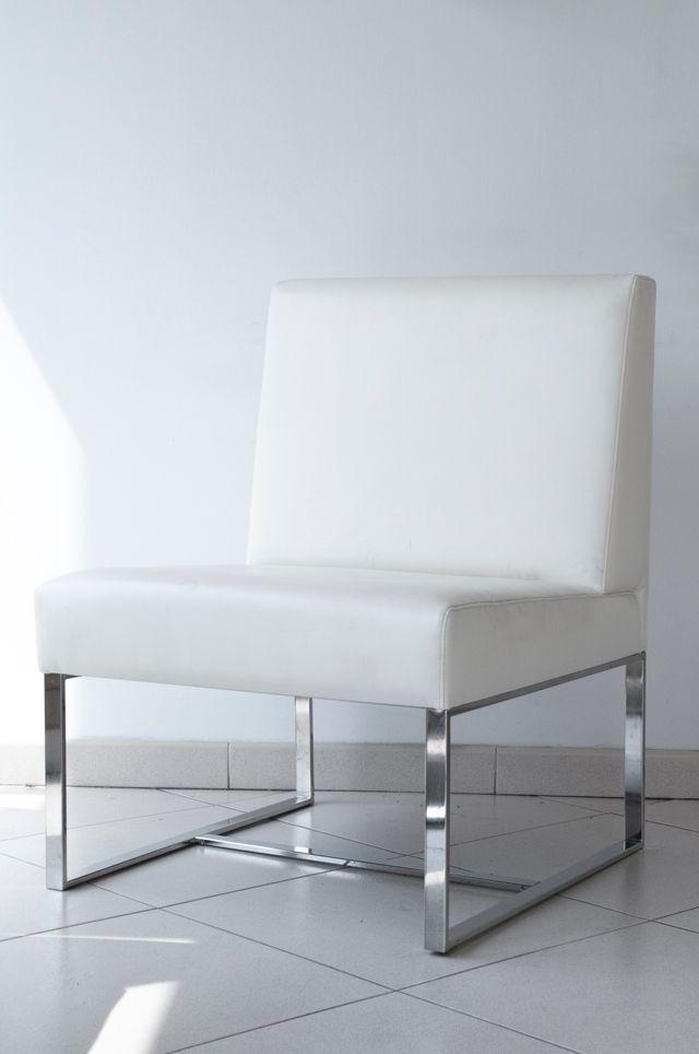 Sillón lounge piel producto italiano de marca