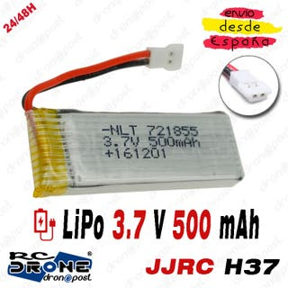 BATERÍA LiPo 3.7V 500mAh Drone JJRC H37 Dropshippi