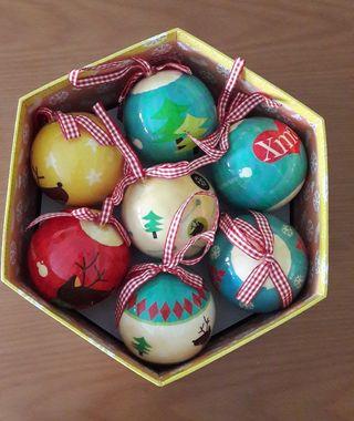 Caja bolas de Navidad de Imaginarium