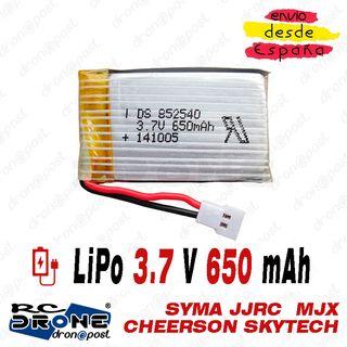 BATERÍA LiPo 3.7V 650mAh DRONE Syma X5C X5SC