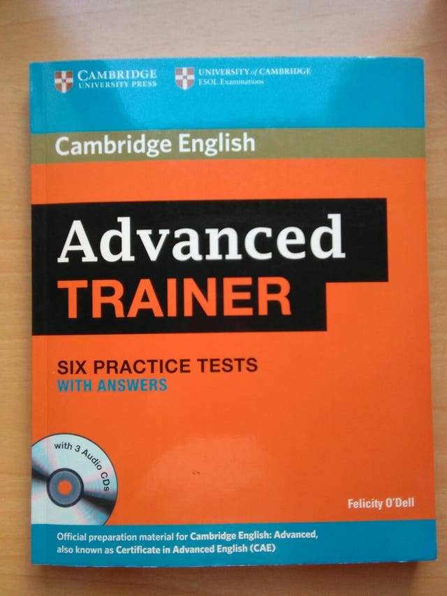Advanced Trainer - Modelos de examen CAE