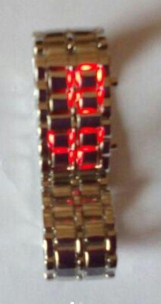 Reloj pulsera digital