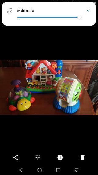 juguetes para bebes ,hasta 3años