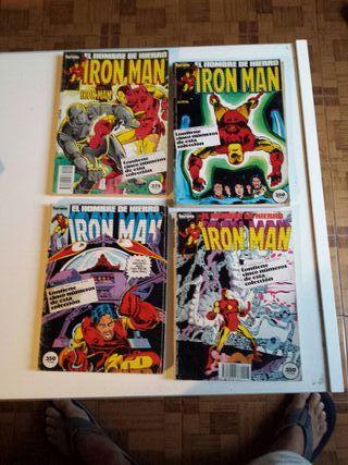 20 cómics Iron Man 1987