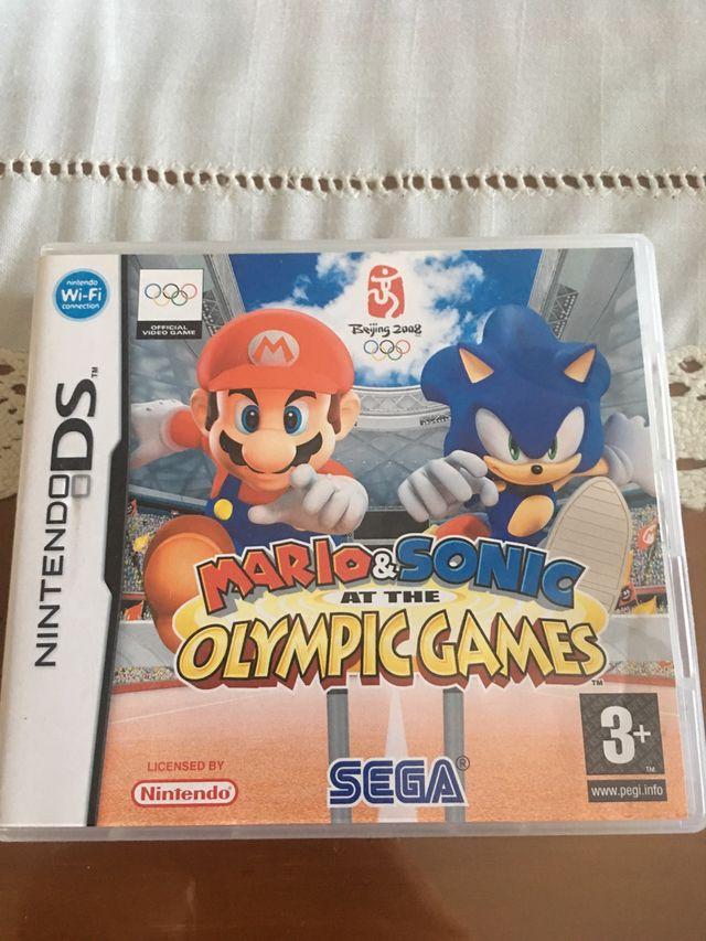 Juego Nintendo 3ds Xl Mario Y Sonic Olimpic Games De Segunda Mano