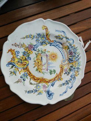 Platos de cerámica de la Alcora