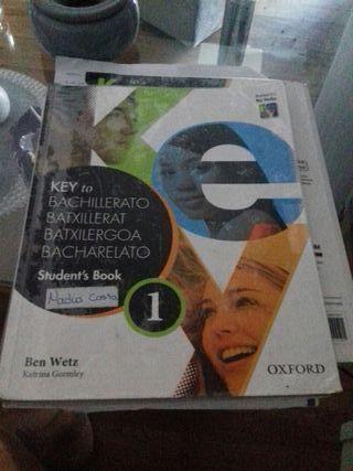 libro de inglés 1 bachillerato