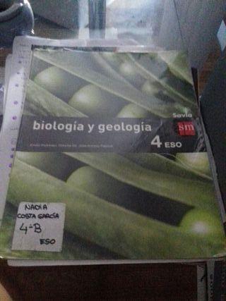 biología y geología 4 de la eso