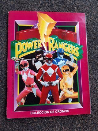 álbum Powers Rangers