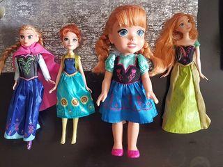 Disney Frozen Mano De 4 Por Segunda 35 Lote Muñecas SwzqwfH