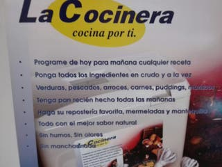 """ROBOT DE COCINA ,, LA COCINERA """""""