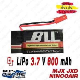 BATERÍA BLL LiPo 3.7V 800mAh 25C MJX JXD 509 FY550