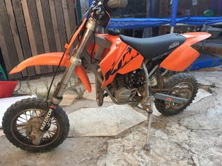 Ktm mini cross 50 senior adventure 2003